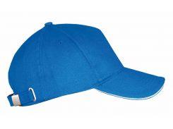 Бейсболка Sol's Long Beach One Size цвет ярко-синий (00594913TUN)
