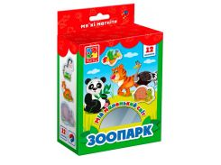 Зоопарк, коллекция магнитов, Мой маленький мир (укр), Vladi Toys