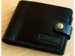 Портмоне Gridasov Leathercraft Moriarti из натуральной кожи черное (WL-015-BK)