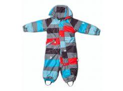 Комбинезон Модный карапуз разноцветный для мальчика демисезонный 80 см (03-00968-0_80)