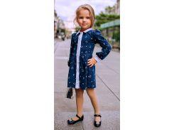 Платье Liora Bay для девочки синее 128 р (90201)