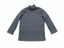 Гольф Модный карапуз цвет джинс для мальчика трикотажный с начесом 110 см (03-00893-6_110)
