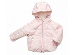 Куртка Модный карапуз розовая для девочки демисезонная 74 см (03-00956-0_74)