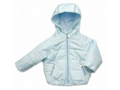 Куртка Модный карапуз голубая для мальчика демисезонная 74 см (03-00956-1_74)