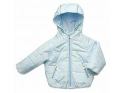 Куртка Модный карапуз голубая для мальчика демисезонная 80 см (03-00956-1_80)