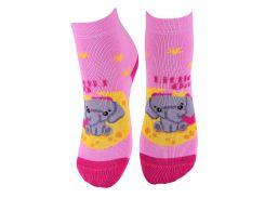 Носки детские АфРика слоник розовые размер 14 (М19В3104К_ср_14)