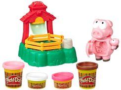 Игровой набор Hasbro Play-Doh Озорные поросята (E67235L0)
