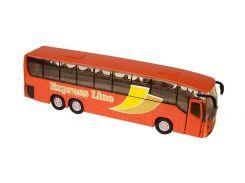 Городской автобус Teamsterz Тимстерс красный 22.5 см (1370246)