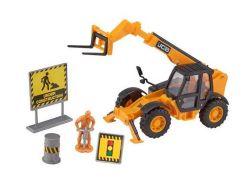 Игровой набор Teamsterz Тимстерс Строительство Трактор-погрузчик (1373570)
