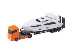 Игровой набор Teamsterz Тимстерс Транспортировщик оранжевый 12.5 см (1374266)