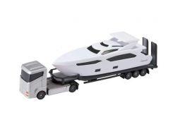 Игровой набор Teamsterz Тимстерс Транспортировщик серый 12.5 см (1374266)