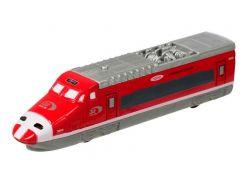 Скоростной поезд Teamsterz Тимстерс со звуковыми и световыми эффектами красный (1370061)
