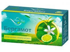 Чай черный Наш Чай с ароматом Бергамот, 20 пакетиков (4820183250285)