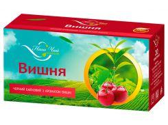 Чай черный Наш Чай с ароматом вишни, 20 пакетиков (4820183250032)