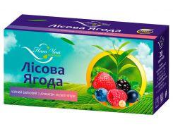 Чай черный Наш Чай с ароматом лесной ягоды, 20 пакетиков (4820183250056)