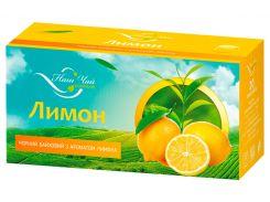 Чай черный Наш Чай с ароматом лимона, 20 пакетиков (4820183250018)