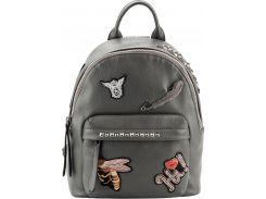 Рюкзак Kite Кайт 2530 Dolce-1 30×24,5×11 см 8 л серый (K18-2530XS-1)