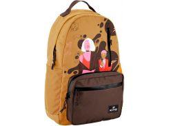 Рюкзак для города Kite Кайт 949-2 VIS 44,5×31×13 см 17 л бежевый (vis19-949l-2)