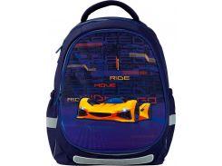 Рюкзак Kite Кайт Education 700(2p) Fast cars 38×28×16 см 18 л темно-синий джинс (k20-700m(2p)-4)