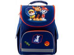 Рюкзак школьный каркасный Kite Кайт Education 501 PAW 25,5×35×13 см 11 л синий (PAW19-501S)