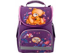 Рюкзак школьный каркасный Kite Кайт Education 501 PO 35×25×13 см 11 л фиолетовый (PO19-501S)