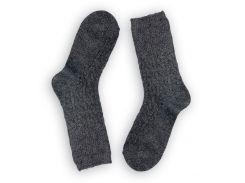 Женские теплые носки ТМ Alex M (Алекс М) из верблюжьей шерсти темно-серые 37-41 р (1001-13)