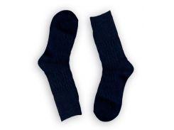 Женские теплые носки ТМ Alex M (Алекс М) из верблюжьей шерсти темно-синие 37-41 р (1001-12)
