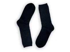 Женские теплые носки ТМ Alex M (Алекс М) из верблюжьей шерсти черные 37-41 р (1001-11)