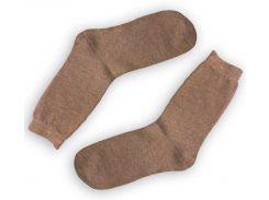 Мужские теплые носки ТМ Alex M (Алекс М) из верблюжьей шерсти бежевые 41-46 р (2001-15)