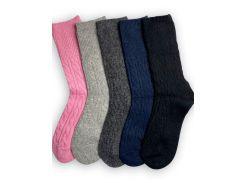 Набор женских носков ТМ Alex M (Алекс М) Rose из верблюжьей шерсти 5 пар 37-41 р (1001-2)