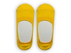 Следы женские ТМ Alex M (Алекс М) с силиконовой пятой желтые 37-40 р (1007-7-1)
