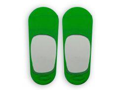 Следы женские ТМ Alex M (Алекс М) с силиконовой пятой зеленые 37-40 р (1007-8-1)