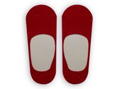 Следы женские ТМ Alex M (Алекс М) с силиконовой пятой красные 37-40 р (1007-9-1)