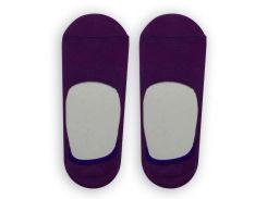 Следы женские ТМ Alex M (Алекс М) с силиконовой пятой фиолетовые 37-40 р (1007-12-1)