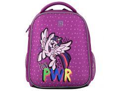 Рюкзак Kite Кайт Education LP 35 × 26 × 13.5 см 12 л каркасный фиолетовый (lp20-555s)