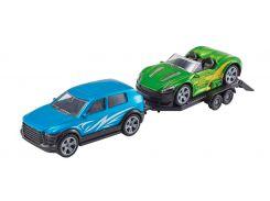 Игровой набор Teamsterz Тимстерс Спортивная гоночная команда синяя (1373536-1)