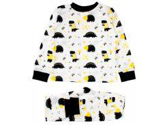 Пижама Динозавры, белая (110), MISHKA (ТМ Мишка)