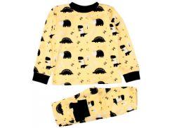 Пижама Динозавры, желтая (110), MISHKA (ТМ Мишка)