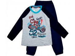 Пижама Matilda Матильда 9033-3 разноцветная размер 128 (9033-3-128)