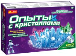 Набор для исследований Опыты с кристаллами, Ranok Creative