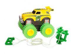 Машинка Трикс Тракс Trix Trux на батарейках желтая (JLT-AS333Y)