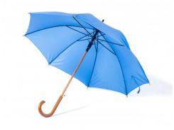 Зонт-трость Bergamo Toprain полуавтомат светло-синий (4513124)