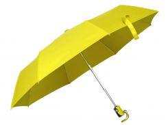 Зонт складной Bergamo Rich автоматический жёлтый (4551008)