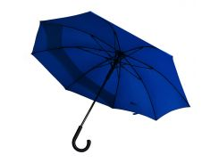 Зонт-трость Line Art Backsafe полуавтомат c удлиненной секцией тёмно-синий (45250-44)