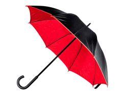 Зонт-трость Macma двухцветный механический чёрный/красный (4519705)