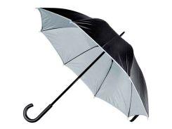 Зонт-трость Macma двухцветный механический чёрный/серый (4519707)