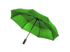 Зонт складной Line Art Light автоматический с подсветкой зелёный (45550-9)