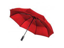 Зонт складной Line Art Light автоматический с подсветкой красный (45550-5)