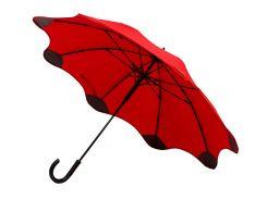 Зонт-трость Line Art Blantier полуавтомат с защитными наконечниками красный (45400-5)