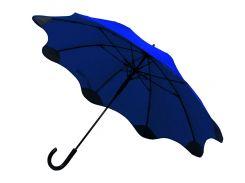 Зонт-трость Line Art Blantier полуавтомат с защитными наконечниками тёмно-синий (45400-44)